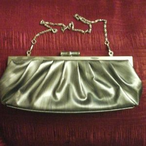 UNLISTED by Kenneth Cole Silverton Clutch